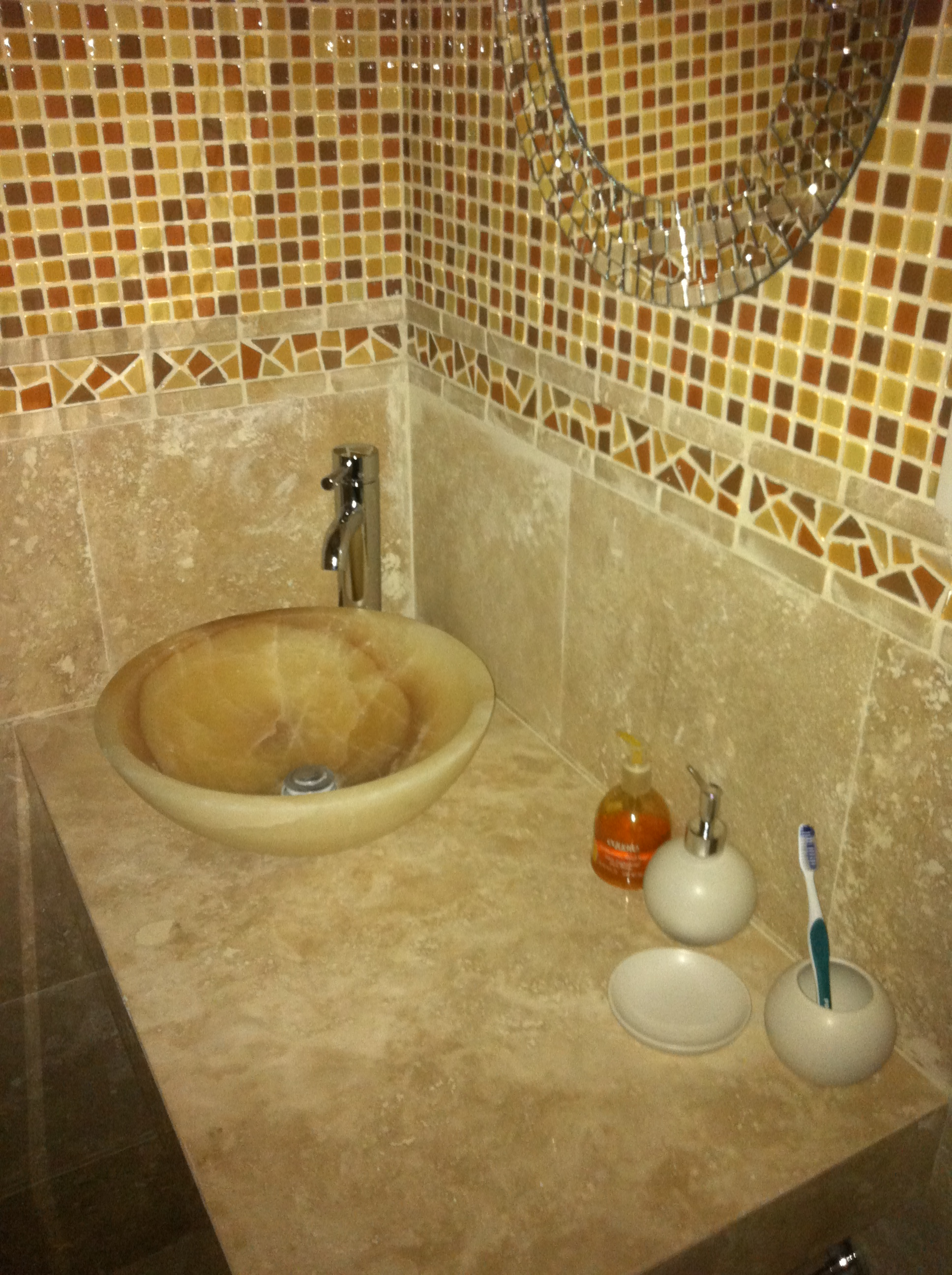 lavabos de marmol