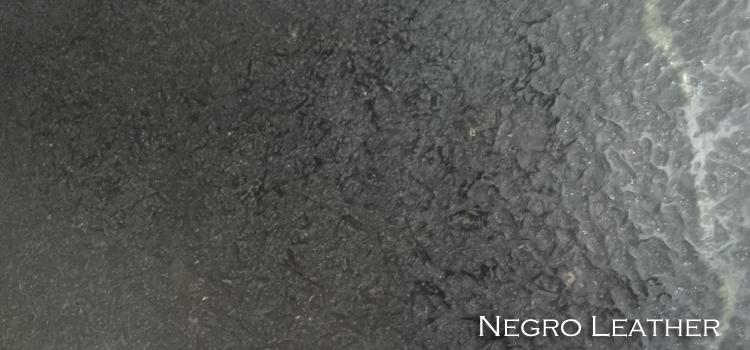GRANITO NEGRO LEATHER
